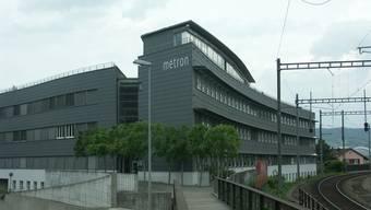 Der Sitz der Firma Metron in Brugg.