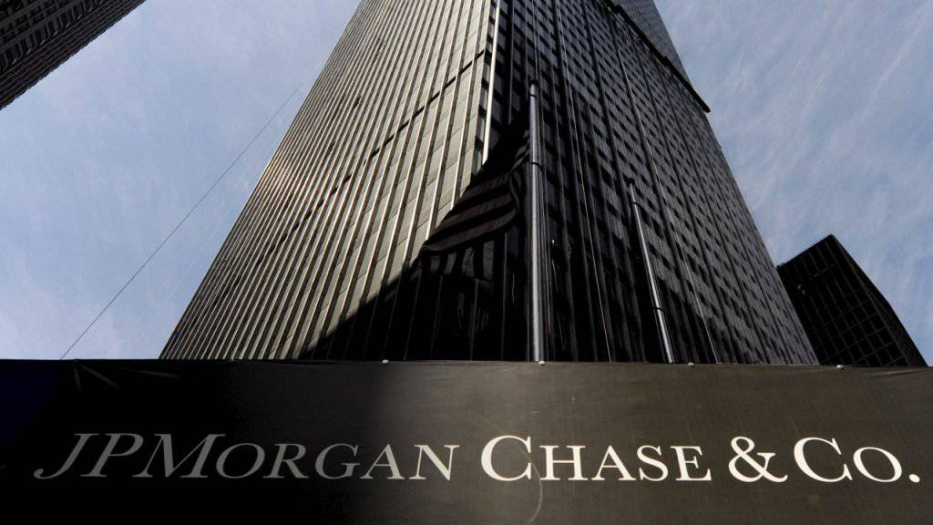 JPMorgan Chase ist weiter auf Kurs für Rekordgewinn. (Archiv)