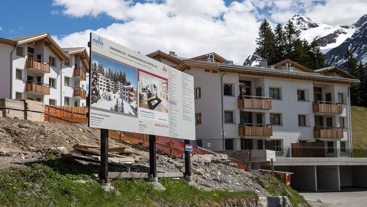 Feriendomizile in Arosa: Was als Zweitwohnung gilt, ist nach wie vor nicht restlos geklärt.Arno Balzarini/Keystone