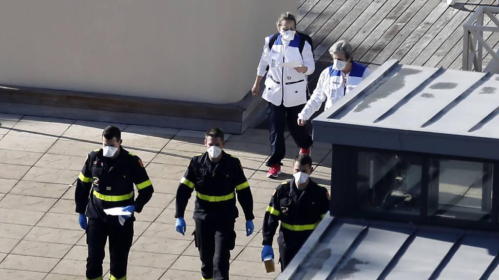 Frankreich meldet ersten Coronavirus-Todesfall in Europa