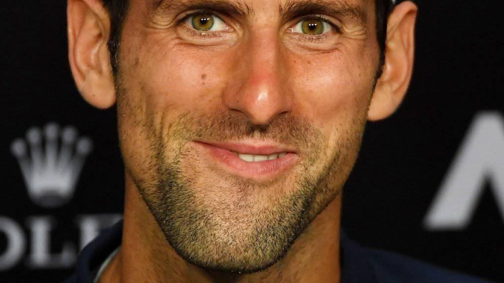 Novak Djokovic kehrt bereits nächste Woche in Acapulco auf die ATP-Tour zurück