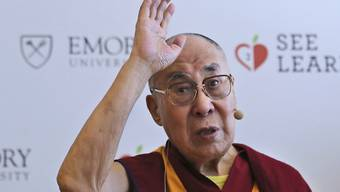 Liegt mit einer Infektion im Spital in Indien: der Dalai Lama, das geistliche Oberhaupt der Tibeter. (Archivbild)