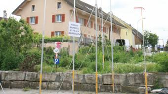 Gegenüber dem «Storchi» ist ein Dreifamilienhaus geplant.