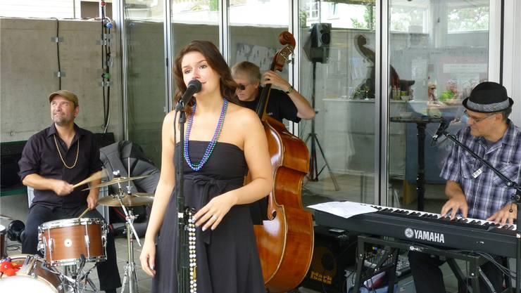 Petra Wydler trat als Überraschungsgast mit «The little BIG easy» auf.
