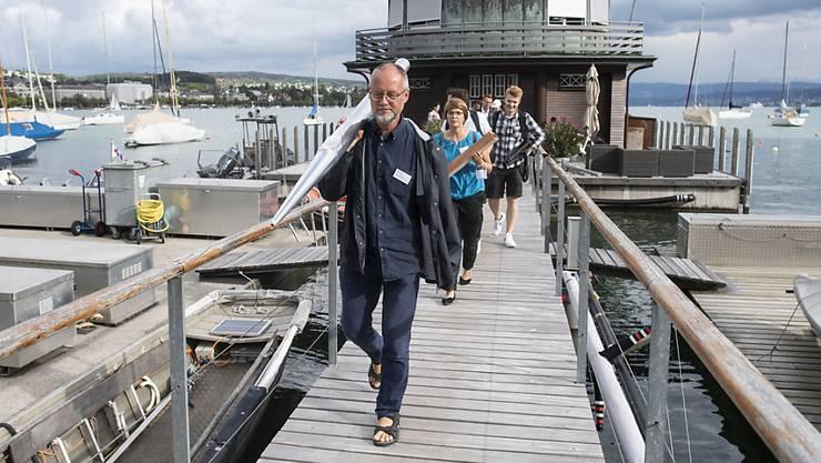 Die Pfeifen für die neue Tonhalle-Orgel kamen per Boot nach Zürich.