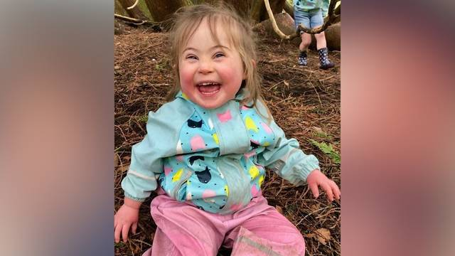 Mädchen mit Down-Syndrom erhält rührende Botschaft