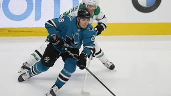 Timo Meier ist Spieler des Jahres der San Jose Sharks