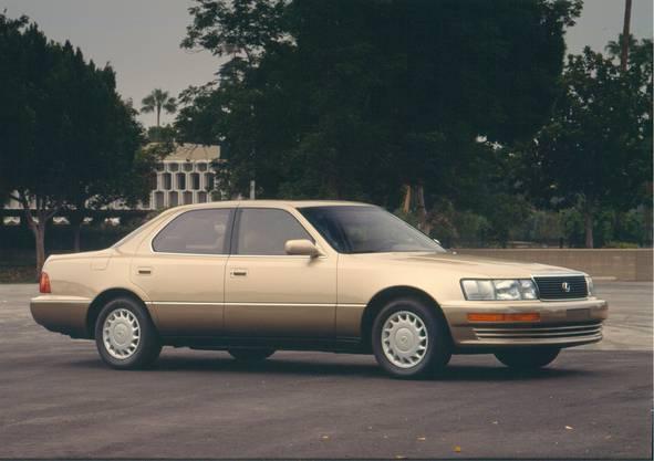 Der Ursprung: Lexus LS400 (1989).