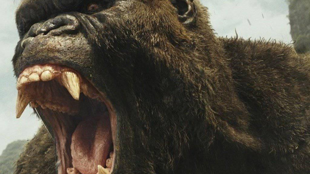 """""""Kong: Skull Island"""" übernahm am Wochenende vom 10. bis 12. März 2017 die Spitze bei den US-Kinocharts. (Archiv)"""