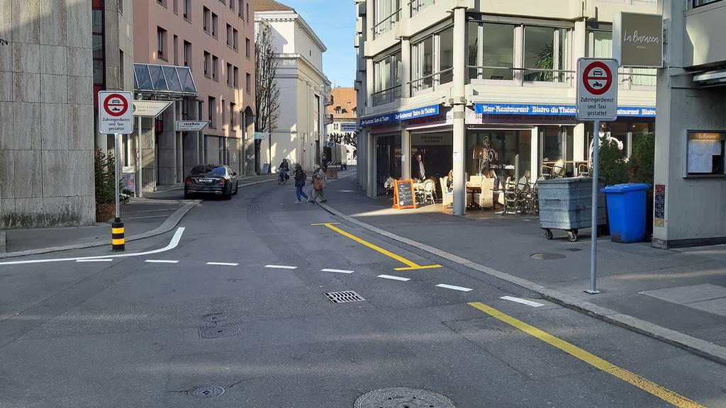Bahnhofstrasse zweiter Monitoringbericht Bild 1