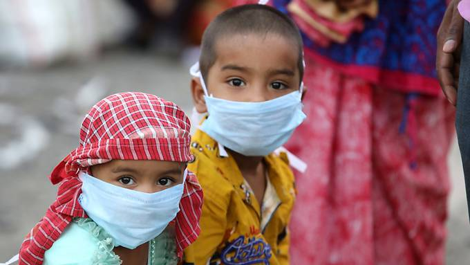 In Indien wütet die Pandemie.