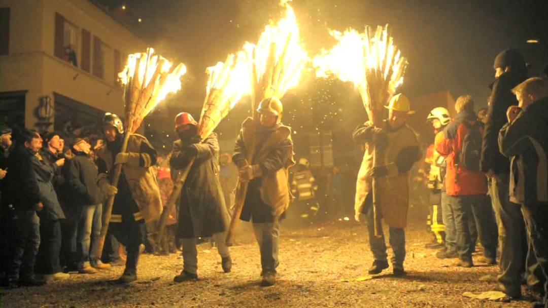 Fasnacht: Ein brennendes Spektakel