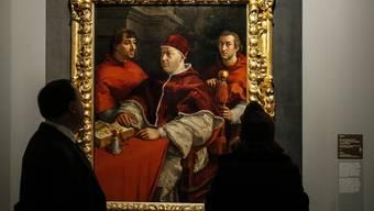 Erstmals ist es italienischen Wissenschaftlern gelungen, das Gesicht des Renaissance-Malers Raffael zu rekonstruieren. (Archivbild)
