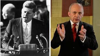 Maurer wie einst John F. Kennedy