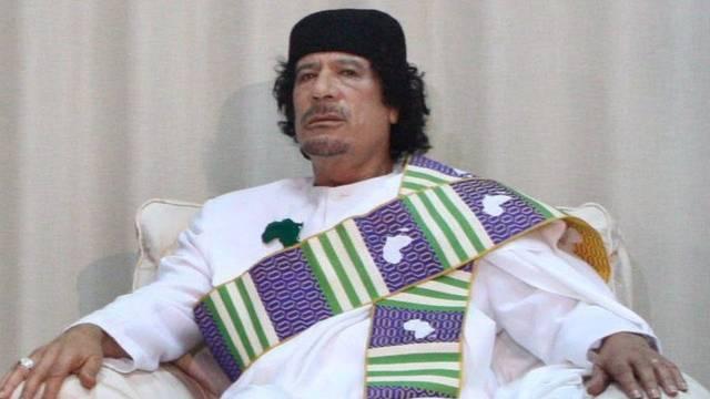 Seine Anhänger schwinden von Tag zu Tag: Muammar Gaddafi