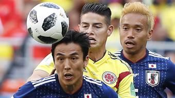 Impressionen zum Gruppenspiel: Kolumbien - Japan