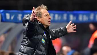 Jürgen Klinsmann stellte sein Amt als Cheftrainer der Hertha nach zehn Wochen bereits wieder zur Verfügung