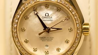 Die Omega Seamaster: Nur eines von vielen Prunkstücken an der Baselworld. (Symbolbild)