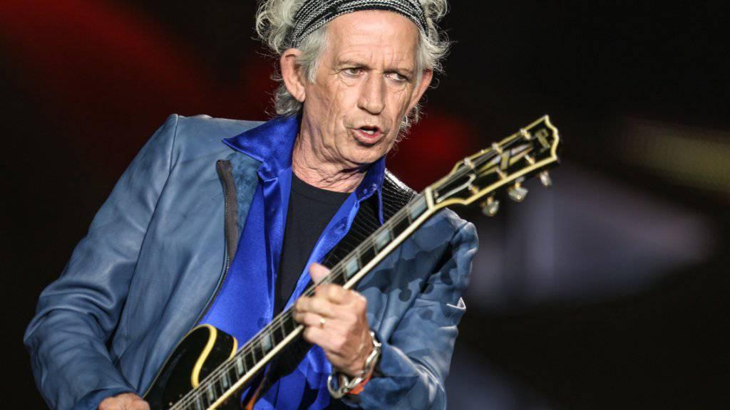 """Es lebe der Rock'n'Roll: """"Stones""""-Gitarrist Keith Richards (Archivbild)"""
