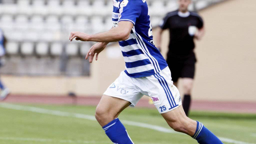 Nassim Ben Khalifa avancierte für Lausanne-Sport zum Mann des Spiels beim Sieg der Waadtländer in Thun