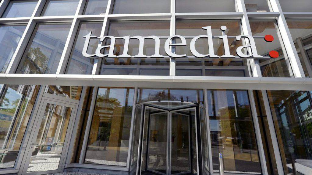 Das Medienhaus Tamedia musste im vergangenen Jahr einen Rückgang des Umsatzes hinnehmen. (Archiv)