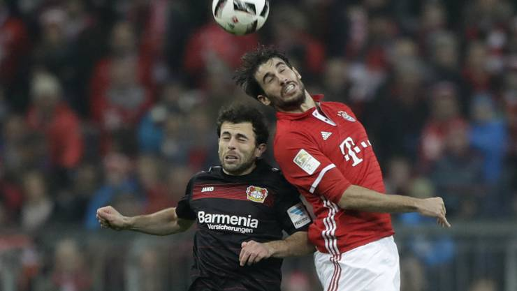 Admir Mehmedi stand am letzten Samstag noch im Einsatz gegen Bayern Münchens Javi Martinez
