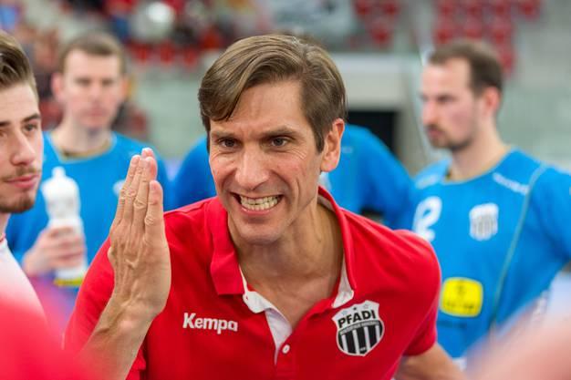Adrian Brüngger, Trainer von Pfadi Winterthur, wurde positiv getestet