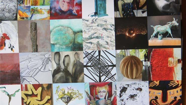 26 Künstlerinnen und Künstler zeigen am 25. und 26. August ihre Ateliers. zvg