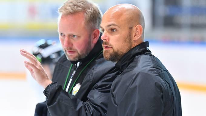 1. Eistraining EHCO EHC Olten 05.08.2019 - mit dem neuen Trainer Fredrik Söderström und Assistenztrainer Dennis Hall