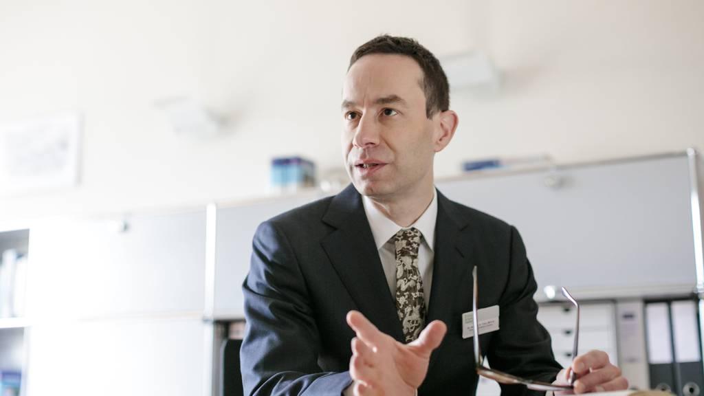 Er rettete die Klinik Aadorf mit seinem Freund: Dr. Stephan Trier.