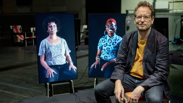 In der Kaserne Basel ist ab heute Abend die neuste Video-Installation von Mats Staub zu erleben.