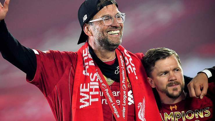 Jürgen Klopp wird in England zum Manager des Jahres gewählt
