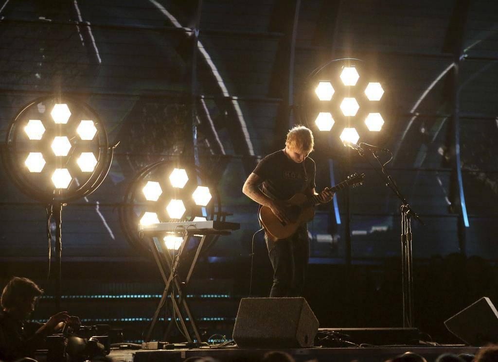 Ed Sheeran (© KEYSTONE)