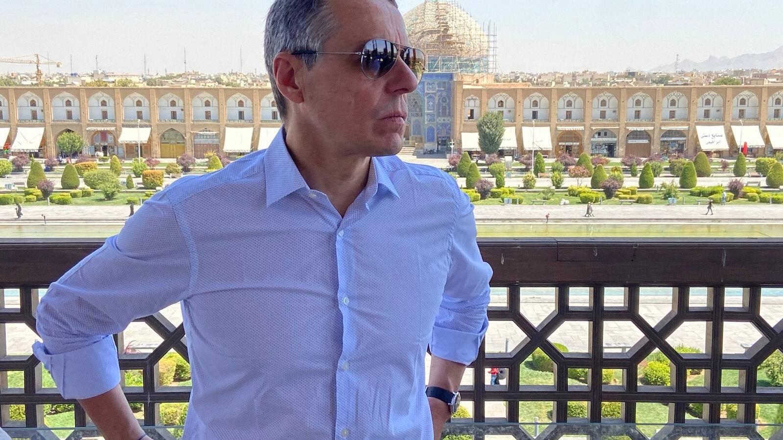 Bundesrat Ignazio Cassis befindet sich derzeit auf Staatsbesuch im Iran.