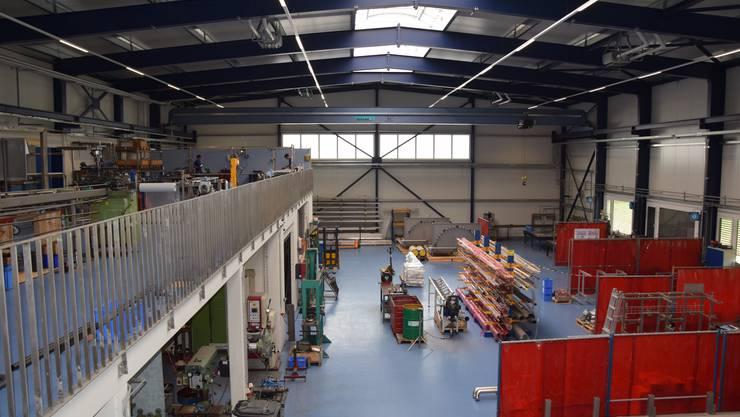 Die Qualinox AG baute in Walterswil ihren neuen Firmenstandort. Hier werden die Edelstahl-Anlagen gefertigt.