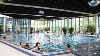 Die Zukunft des Thermalbads Aqualon in Bad Säckingen ist gesichert. zvg