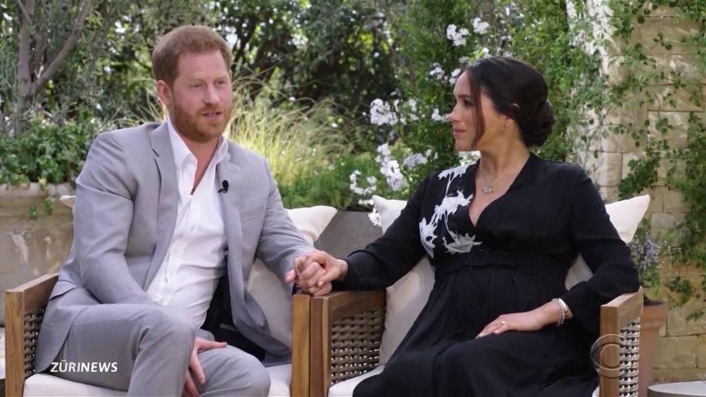 Rassismus und Suizidgedanken: Meghan Markle und Prinz Harry packen aus