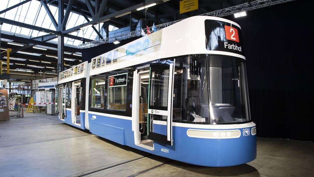 Flexity heisst das neue Modell der Züri-Trams
