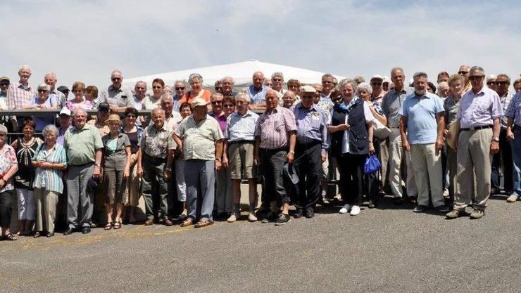 Teilnehmer Veteranenreise STIFTUNG FÜR DAS PFERD Le Roselet