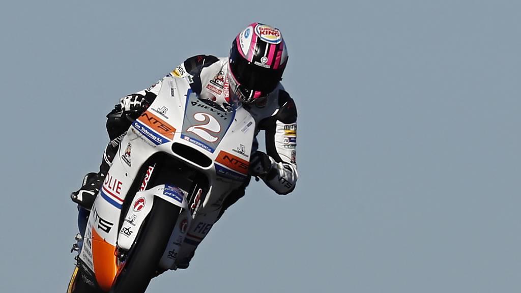 Raffin kurzzeitig ein Moto2-Teamkollege von Lüthi