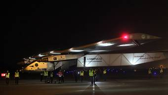 """Solar Impulse 2"" bei der Ankunft in China (Archiv)"