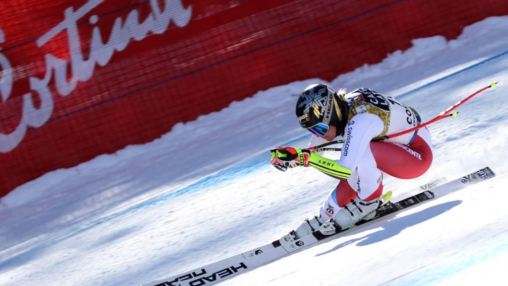 Nach Gold im Super-G der Triumph in der Abfahrt? Lara Gut-Behrami ist in Cortina auch in der Abfahrt favorisiert