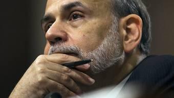Vorerst keine zusätzlichen Massnahmen: Fed-Chef Ben Bernanke (Archiv)