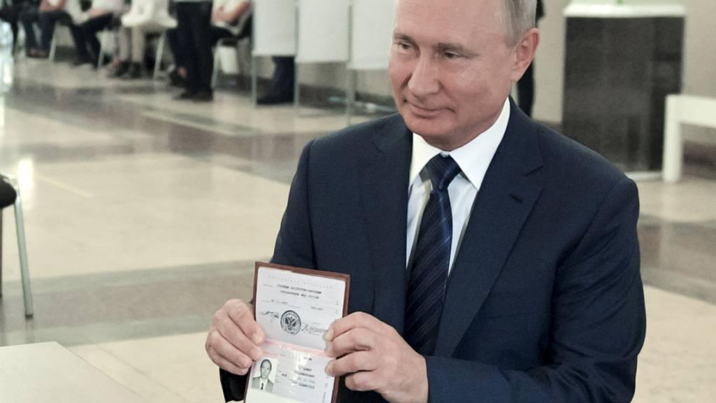 Kreml: «Triumph» für Putin bei Verfassungsreferendum in Russland