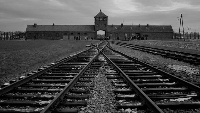 Das Konzentrationslager Auschwitz.