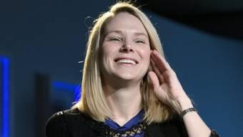 Yahoo-Chefin Marissa Mayer am WEF in Davos (Archivbild)
