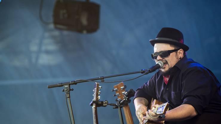 Der Brienzer Blueser Marc Amacher hat am diesjährigen Gurtenfestival eine Doppelfunktion: Er ist auftretender Musiker und Märit-Chef. (Archivbild)