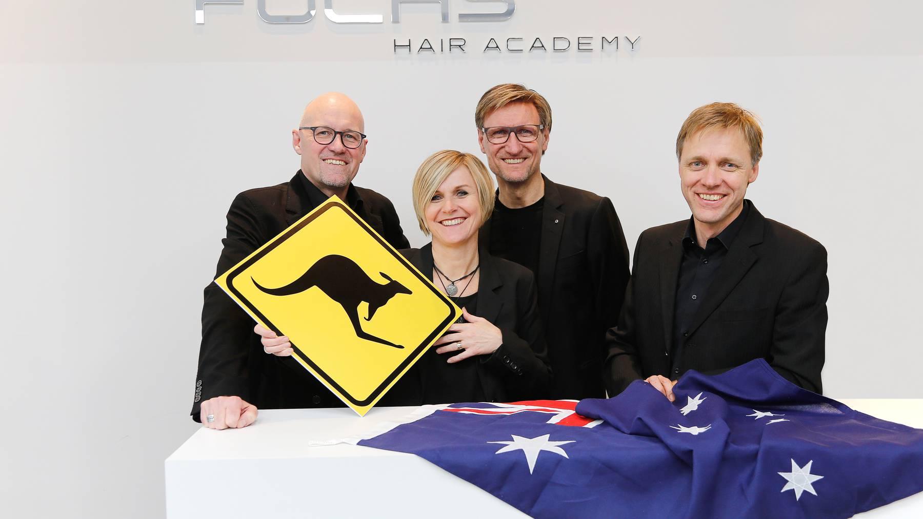 Fuchs Hairteam eröffnet neuen Coiffeursalon in Sydney