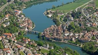 Der Rheinuferweg soll auf beiden Seiten aufgewertet werden. Archiv/Gerry Thönen