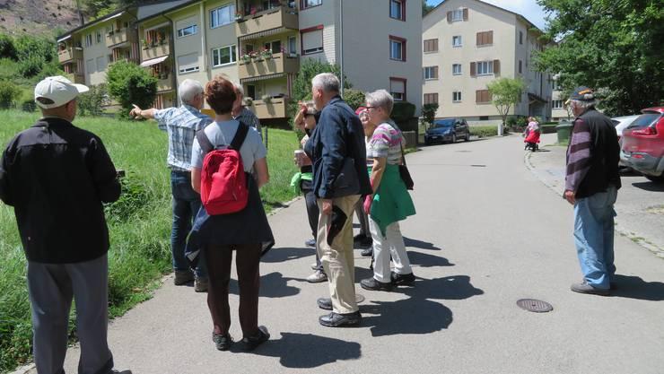 Die Wandergruppe vor der Wanderung